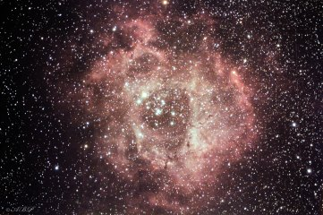2 Rosette nebula with skywatcher 80ed pro