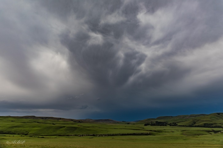 big storm clouds